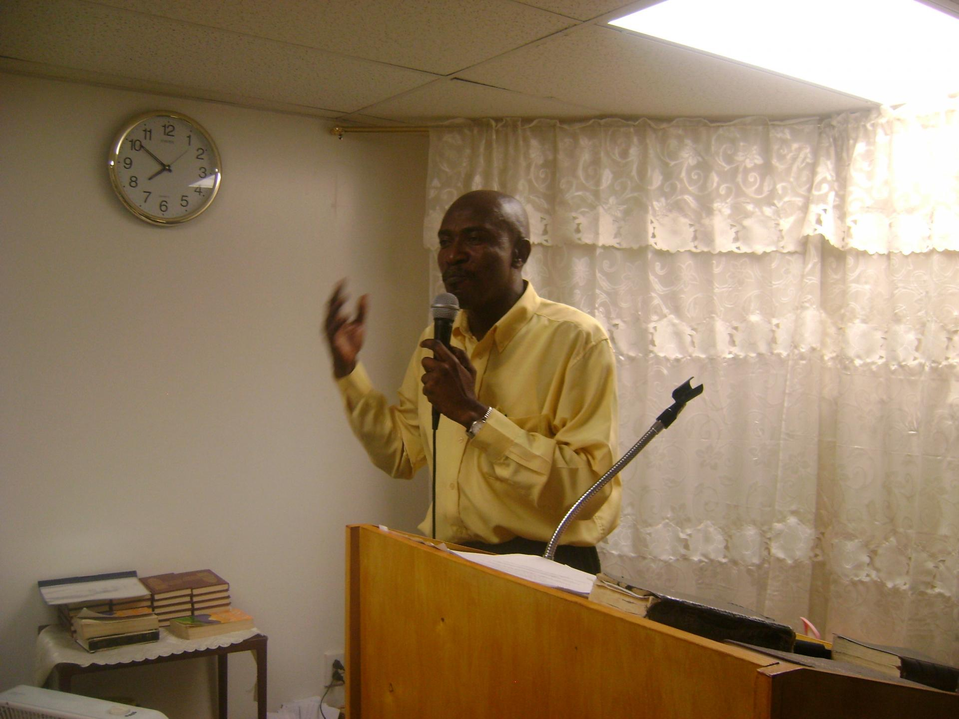 Conférence biblique de Zorgho, Burkina Faso, 4 et 5 août 2017